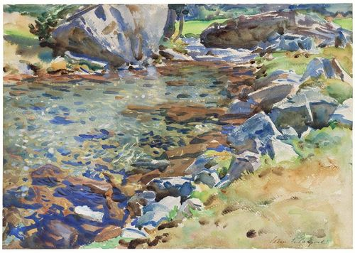 Sargent-Brook-Among-the-Rocks
