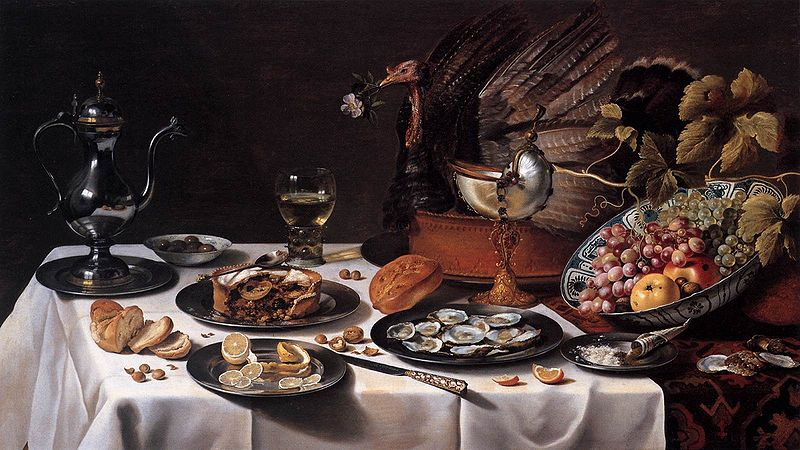 Still_Life_with_Turkey_Pie_1627_Pieter_Claesz
