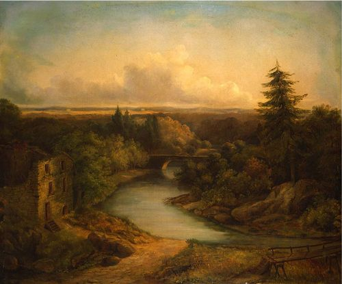 Sully_WissahickonCreek1845