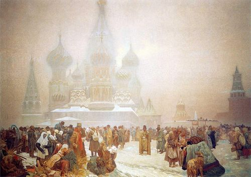 Mucha-the-abolition-of-serfdom-in-russia-1914