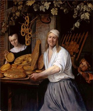 Jan-Steen-baker-oostwaert-and-his-wife