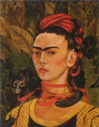 Frida-Kahlo-self-portrait-with-monkey-1940