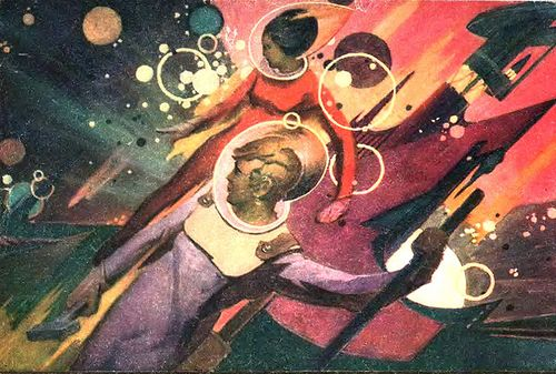 Soviet-space-workers