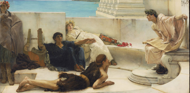 Alma-Tadema-Reading-from-Homer