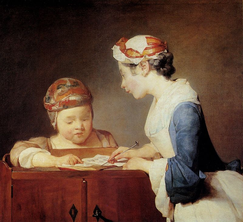 Chardin-the-young-schoolmistress-1740