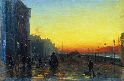 Dawn-in-st-petersburg