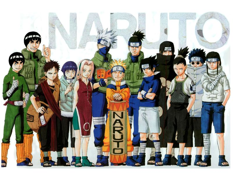 all the naruto characters