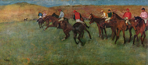 At-the-races-before-the-start-Degas